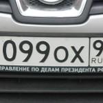 Таблица: коды регионов России на автомобильных номерах