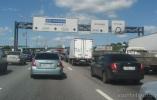 Ограничение движения большегрузов по МКАД