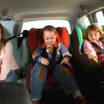 Где самое безопасное место в автомобиле для ребенка