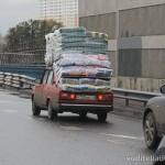 Перевозим грузы на верхнем багажнике автомобиля