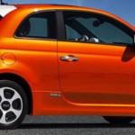 Итальянский электрокар Fiat 500 первым приедет в Калифорнию