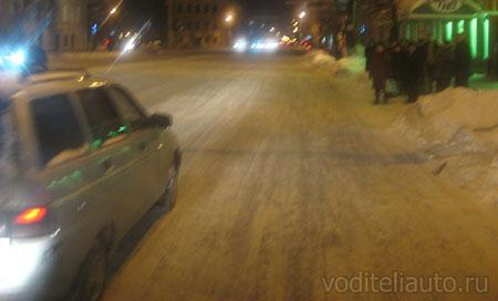 управление автомобилем ночью
