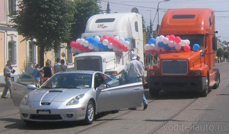 водители автомобилей