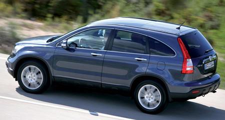 4 авто: Honda CR-V