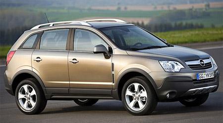4 авто: Opel Antara
