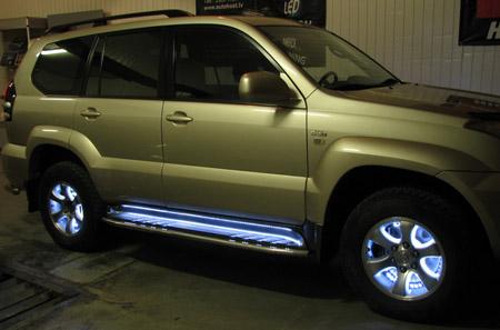 Авто подсветка – доступный и эффектный тюнинг