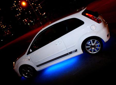 авто подсветка под днищем