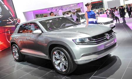 Автомобиль Volkswagen Touareg СС