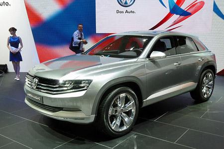 Автомобиль Volkswagen Tiguan CC