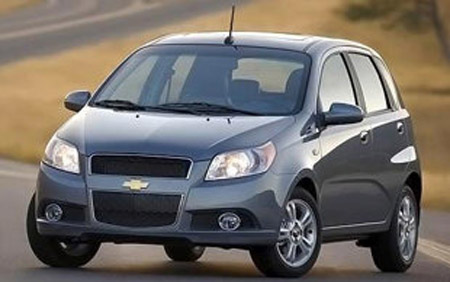 автомобиль Chevrolet Aveo wagon