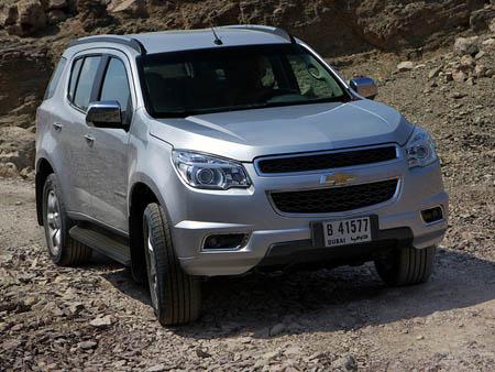 внедорожник Chevrolet TrailBlazer