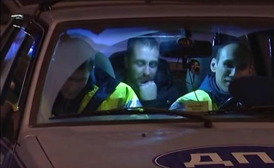 провека водителя на состояние опьянения
