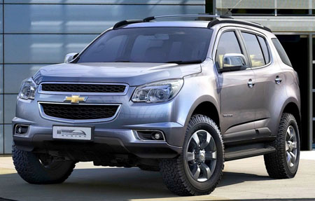 Кроссовер 2013 - Chevrolet Trailblazer