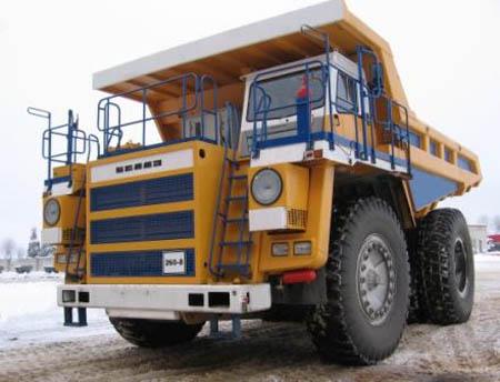 90-тонный БелАЗ-7558