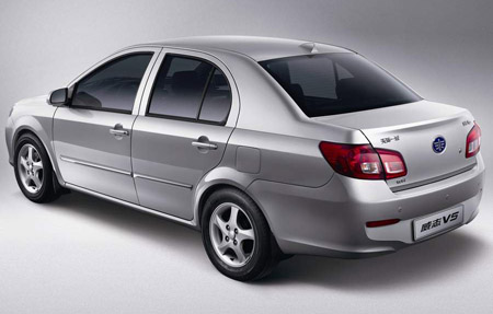 китайский автомобиль FAW V5