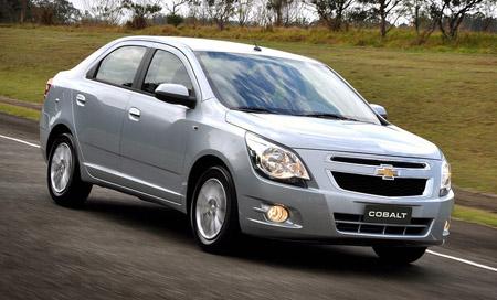 внешний вид автомобиля Chevrolet Cobalt
