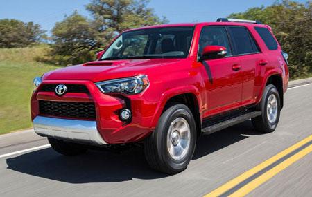 Новый внедорожник Toyota 4Runner