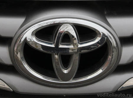 Значки автомобилей Тойота