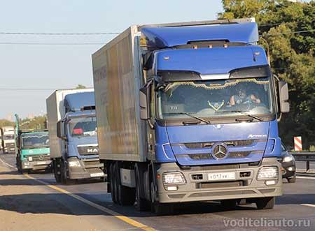 Работа систем мониторинга автотранспорта