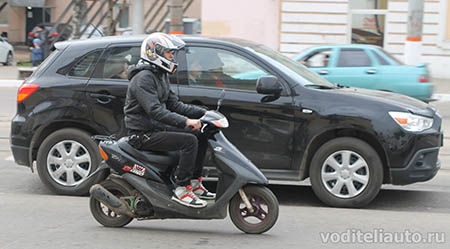 водители скутеров
