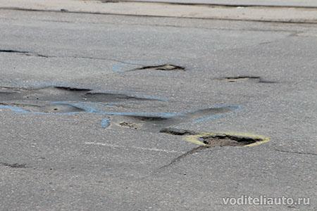 Состояние дорог в городах РФ
