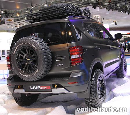новая модель Chevrolet Niva