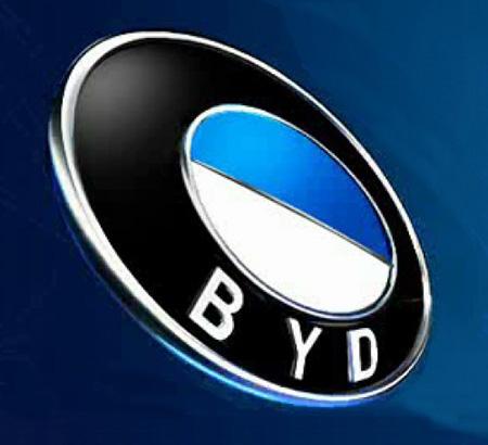 Эмблема автомобиля BYD