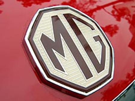 Эмблема автомобилей MG