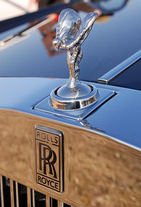 Эмблема автомобилей Rolls-Royce