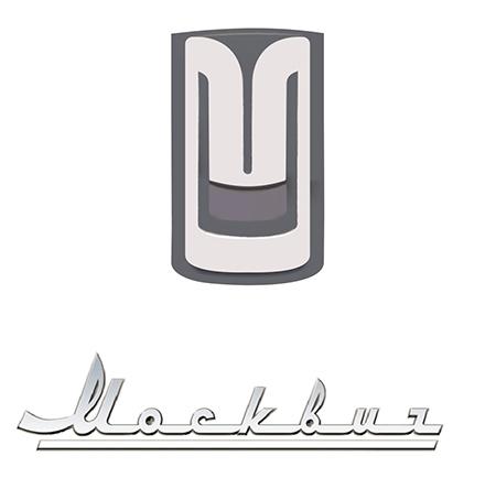 Эмблема автомобилей Москвич