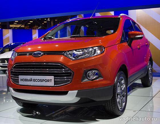 фото Форд Экоспорт  с ММАС