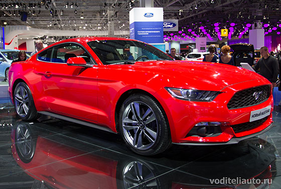 Ford Mustang 2015 фото