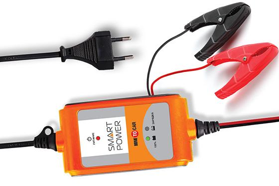 простое устройство для зарядки аккумулятора автомобиля Smart Power