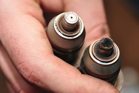 Очистка форсунок инжектора