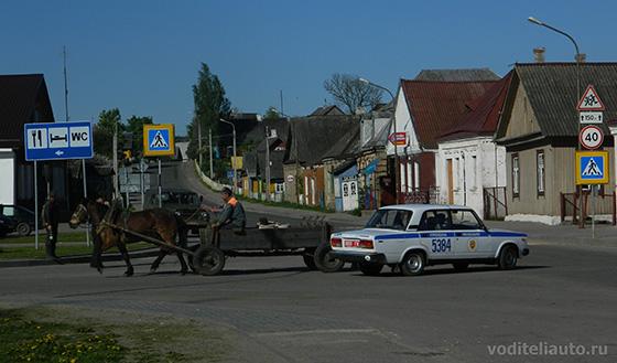 на дорогах в республике Беларусь