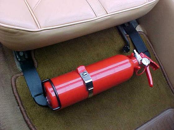 огнетушитель автомобильный - его срок годности