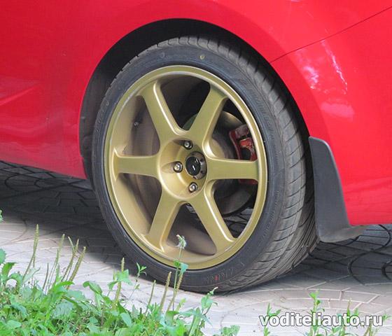 покраска колесных дисков автомобилей своими руками