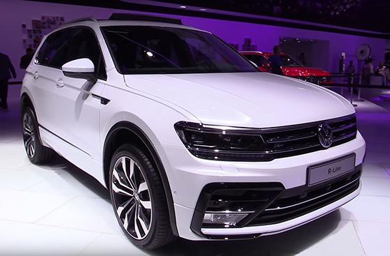 фото кроссовера 2016 модельного года новый Volkswagen Tiguan