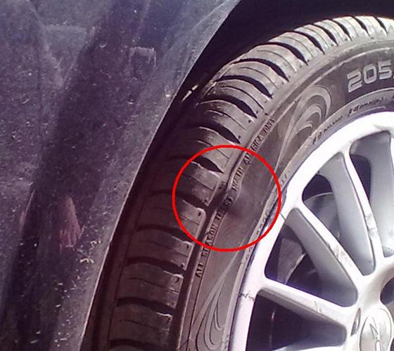 грыжа на колесе ремонт или замена