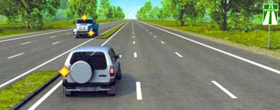 разворот на автормагистралях