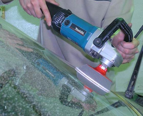 полироль для стекла от царапин