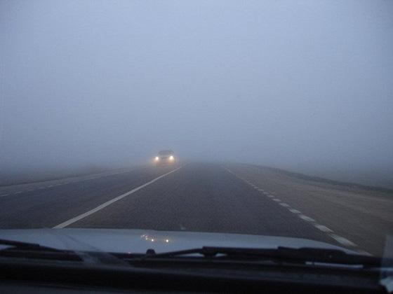 недостаточная видимость на дороге