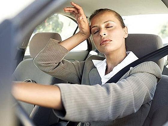 усталость водителя за рулем