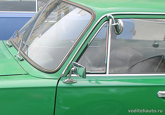 боковое зеркало заднего вида на ВАЗ 2101 (копейка)