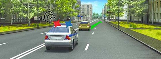 уступить дорогу автомобилю со спецсигналами