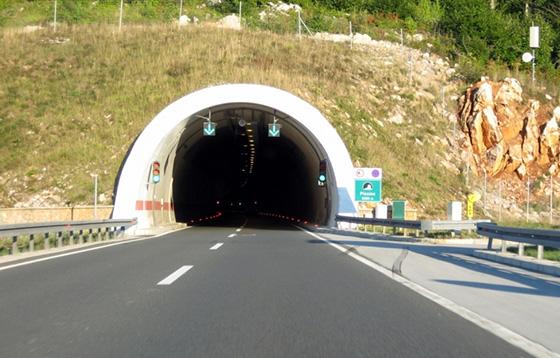 Обгон в тоннеле запрещен