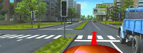 Опережение на пешеходном переходе