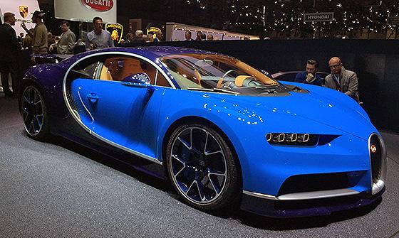 самая самая дорогая машина в мире Bugatti Chiron