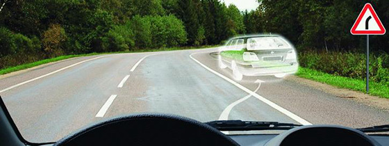 Крутой поворот дороги
