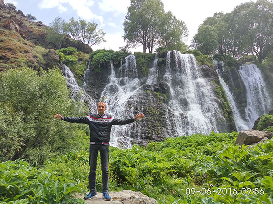 Водопад в Армении